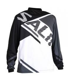Brankářský florbalový dres SALMING Atilla Jersey SR Grey/Black