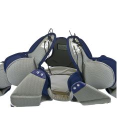 CHEST & ARMS PROTECTOR VAUGHN VENTUS SLR PRO blue/silver/white senior - XL - Arm + chest