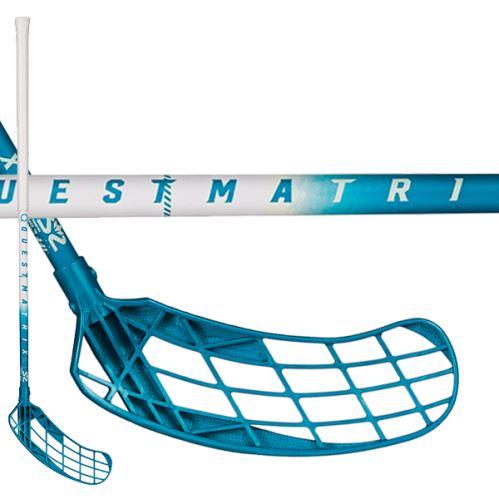 SALMING Matrix 32 White/Blue 82(93 L) - Floorball-Schläger für Kinder
