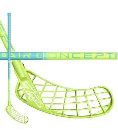 Florbalová hokejka ZONE STICK MONSTR AIR 29 light turquoise/green 92cm