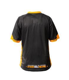 OXDOG RACE SHIRT black/orange 140 - T-Shirts