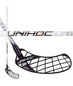 Florbalová hokejka UNIHOC STICK Unity Top Light II29 white 100cm