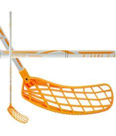 Florbalová hokejka EXEL A-GAME WHITE-ORANGE 2.6 103 ROUND SB