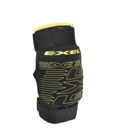 Brankářské florbalové chrániče kolen EXEL PRO LEAGUE KNEEGUARD MEDIUM black S* - Chrániče a vesty