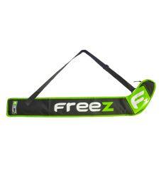Florbalová taška FREEZ Z-80 STICKBAG BLACK/GREEN  87cm