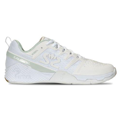 SALMING Kobra 3 Shoe Women White/PaleBlue 7,5 UK - Shoes