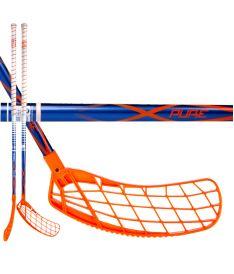 Florbalová hokejka EXEL P40 BLUE 2.9 92 ROUND SB
