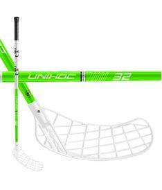 Floorballschläger UNIHOC STICK PLAYER 32 neon green