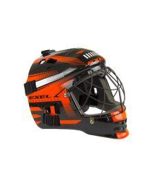 EXEL S60 HELMET junior black/orange - masks