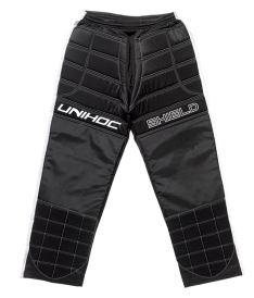 Floorball goalie pant UNIHOC GOALIE PANTS SHIELD black/white