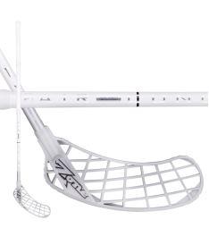 Floorball stick ZONE STICK MONSTR AIRLIGHT 27 white/silver 100cm