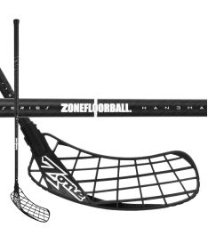 Floorball stick ZONE STICK HYPER AIR SL 27 D+ ALMOSTBLACK