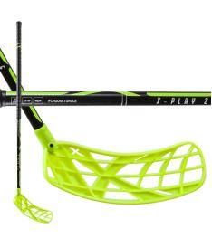Florbalová hokejka EXEL X-PLAY BLACK-YELLOW 2.6 101 SB