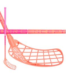 Florbalová hokejka ZONE STICK HYPER AIR CURVE 1.5° 29 pink/coral 92cm
