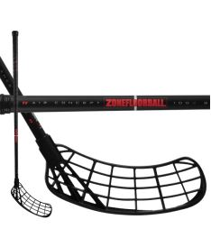 ZONE Stick MAKER Air 30 black/red 92cm