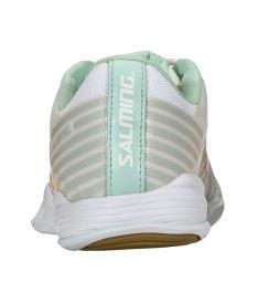SALMING Viper 5 Shoe Women White/PaleBlue 4 UK - Obuv