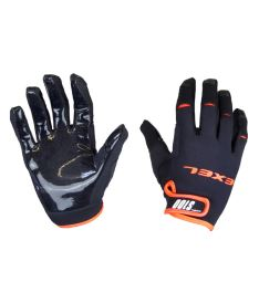 EXEL S100 GOALIE GLOVES SHORT black/orange 9/L - Gloves