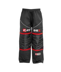 Floorball goalie pant FREEZ Z-80 GOALIE PANT BLACK/RED senior