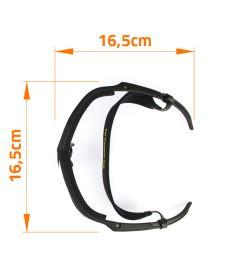 EXEL X80 EYE GUARD senior orange - Ochranné brýle