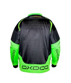 OXDOG GATE GOALIE SHIRT senior black/green - Brankářský dres