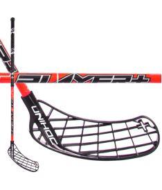 Florbalová hokejka UNIHOC STICK PLAYER+ 26 red/black 100cm