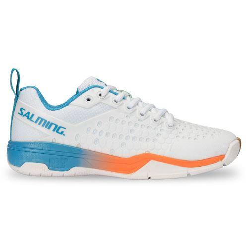 SALMING Eagle Shoe Men White/RaceBlue 8,5 UK - Schuhe