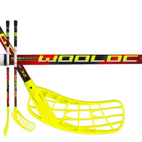 WOOLOC WINNER 3.2 red 65 ROUND NB L '16 - Dětské, juniorské florbalové hole