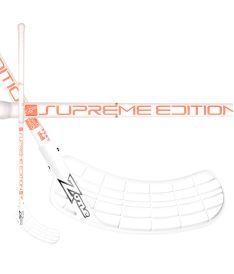 Floorball stick ZONE STICK SUPREME Composite 29 white/coral 92cm