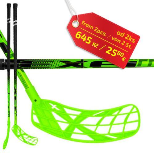 EXEL FPplayER 2.9 green 98 ROUND SB R ´16  - florbalová hůl