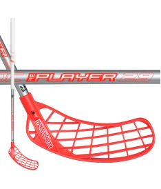 Florbalová hokejka UNIHOC STICK REPLAYER STL 29 white/silver 96cm