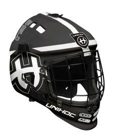 Floorball goalie mask UNIHOC GOALIE MASK SHIELD black/white