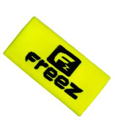 Sportovní potítko FREEZ QUEEN WRISTBAND LONG yellow/black