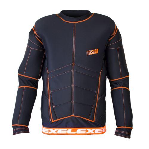 EXEL S100 PROTECTION SHIRT black/orange - Schoner und Schutzwesten