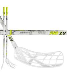Floorball stick EXEL F60 WHITE 2.9 98 ROUND MB