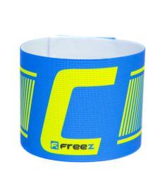 Kapitánská páska FREEZ CAPTAIN'S BAND blue/lime