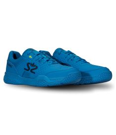SALMING Hawk Court Shoe Men Brilliant Blue/Poseidon Blue 6,5 UK - Obuv