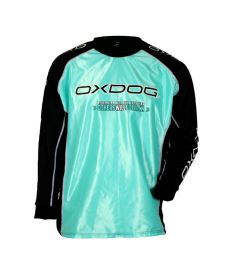 Floorball goalie jersey OXDOG TOUR GOALIE SHIRT tiff blue 150/160