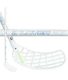 Florbalová hokejka UNIHOC STICK REPLAYER BAMBOO 26 white/silver 100cm