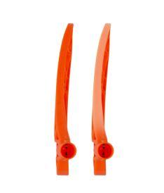 Florbalová čepel EXEL ICE MB neon orange L - florbalová čepel