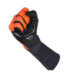 EXEL S100 GOALIE GLOVES LONG orange/black - Brankařské rukavice