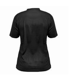 Sportovní triko FREEZ Z-80 SHIRT BLACK L - Trička