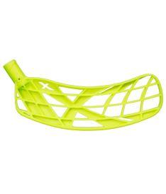 Floorballkelle EXEL BLADE X MB neon yellow L