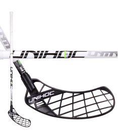 Florbalová hokejka UNIHOC STICK Unity Feather Light 26 white 104cm