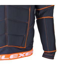 EXEL S100 PROTECTION SHIRT black/orange XS - Schoner und Schutzwesten