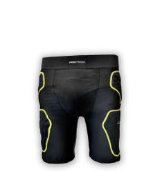 Floorball goalie shorts PRECISION PROTECTION SHORTS black