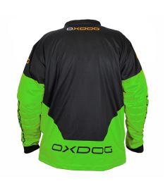 OXDOG VAPOR GOALIE SHIRT senior black/green - Brankářský dres