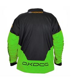 OXDOG VAPOR GOALIE SHIRT senior black/green - Pullover