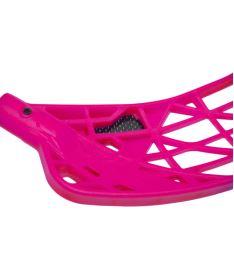 Florbalová čepel OXDOG AVOX CARBON NBC neon pink R - florbalová čepel