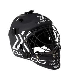 Floorball goalie mask OXDOG XGUARD HELMET JR Black