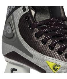 GRAF SKATES SUPER 101 black/silver - 31** - Schlittschuhe